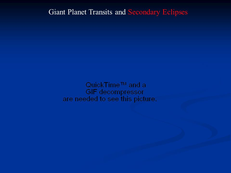 Giant Planet Transits and Secondary Eclipses