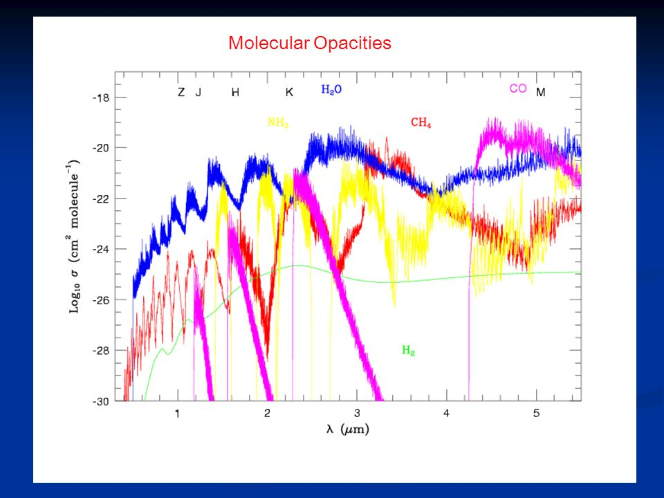Molecular Opacities