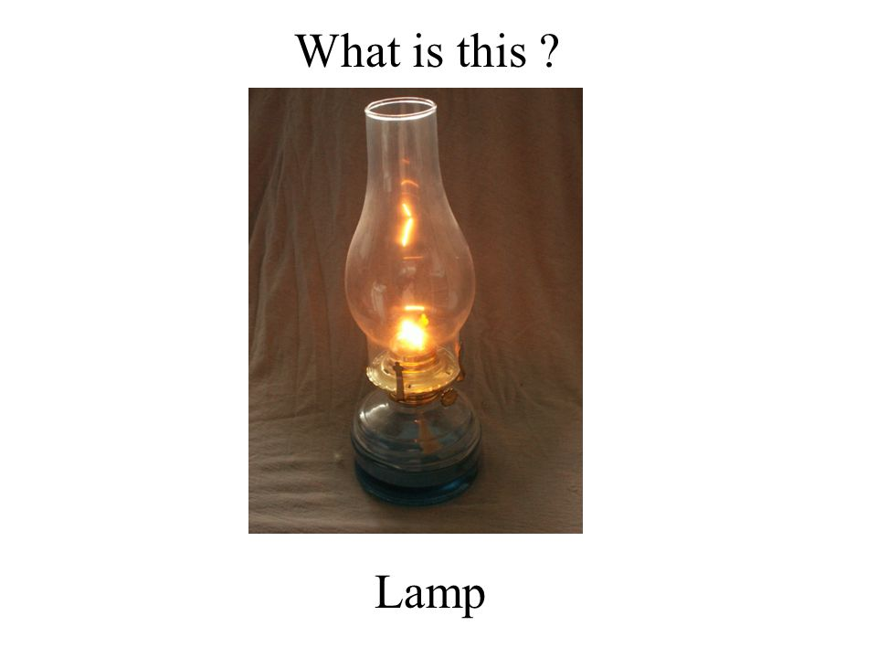 What is this Lamp