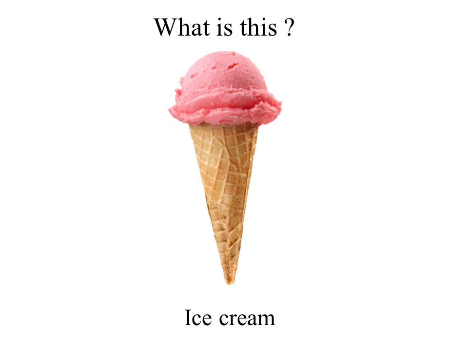 What is this Ice cream