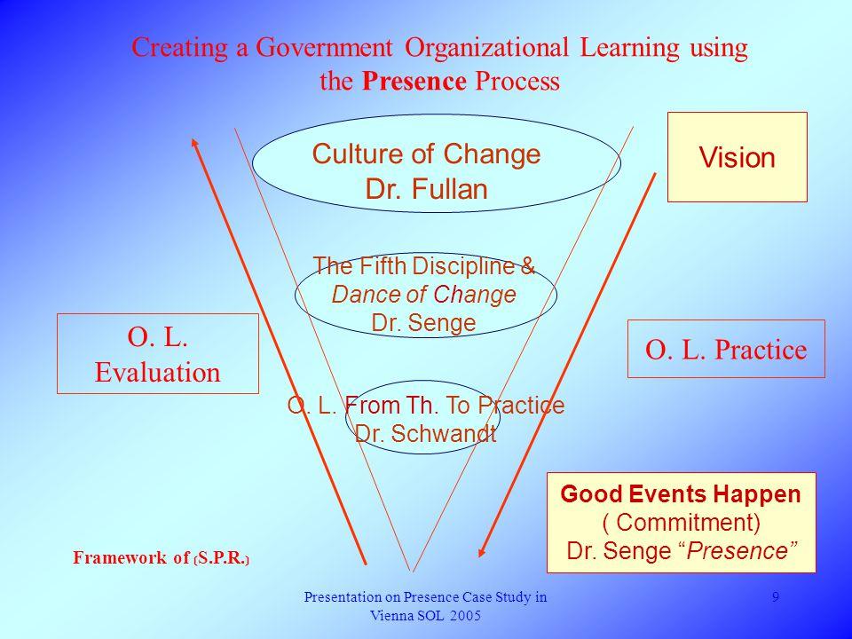 Presentation on Presence Case Study in Vienna SOL 2005 8 1.