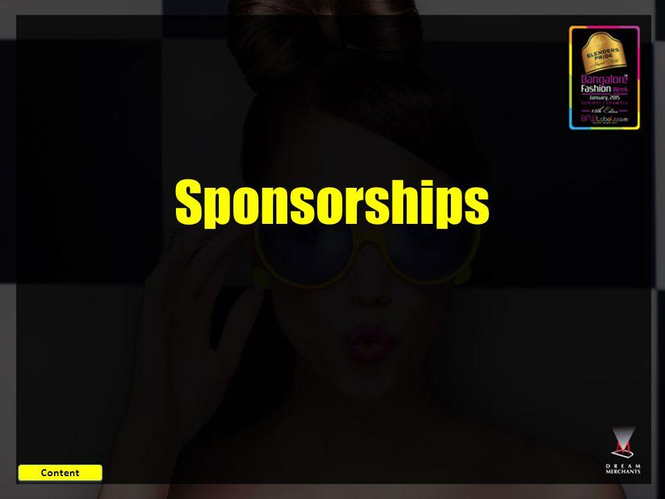 Sponsorships Content