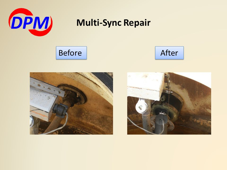 Multi-Sync Repair DPM After Before