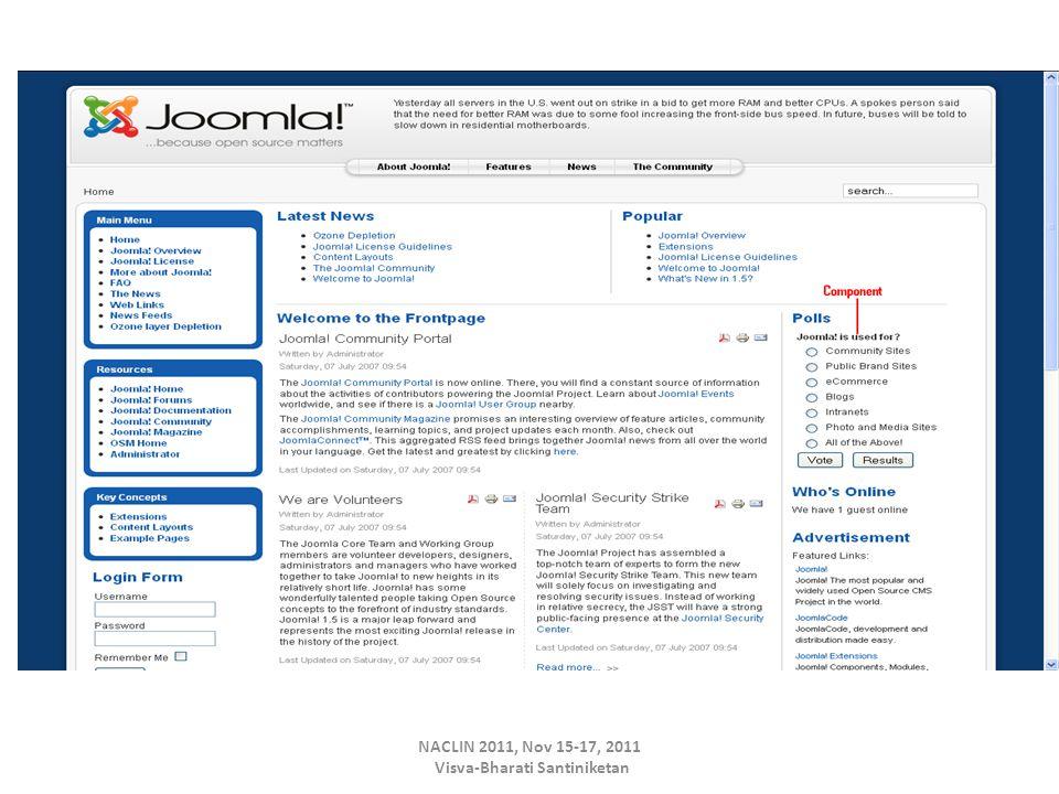 NACLIN 2011, Nov 15-17, 2011 Visva-Bharati Santiniketan