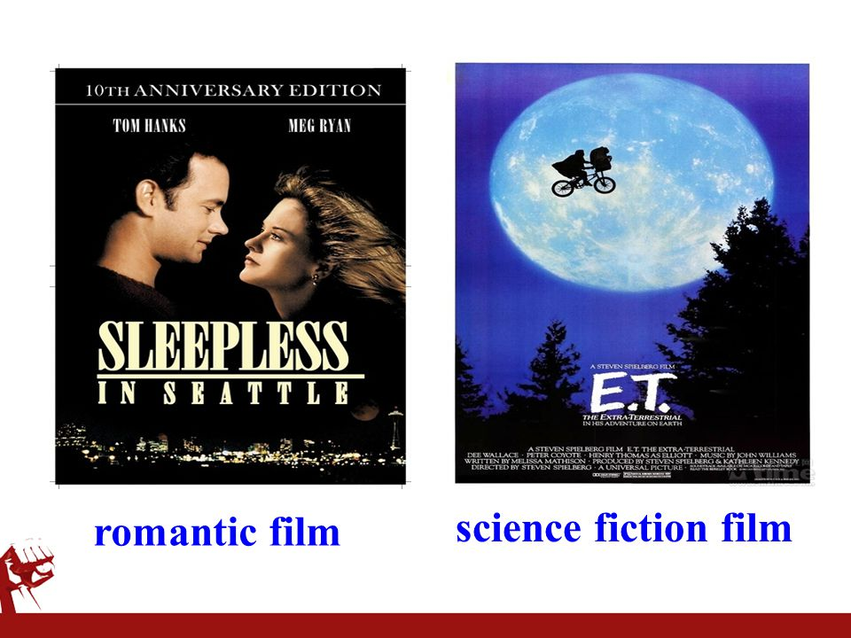 romantic film science fiction film