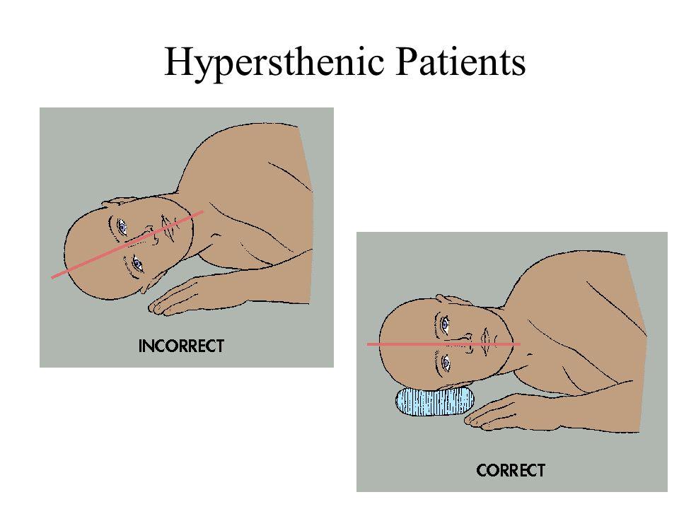 Hypersthenic Patients