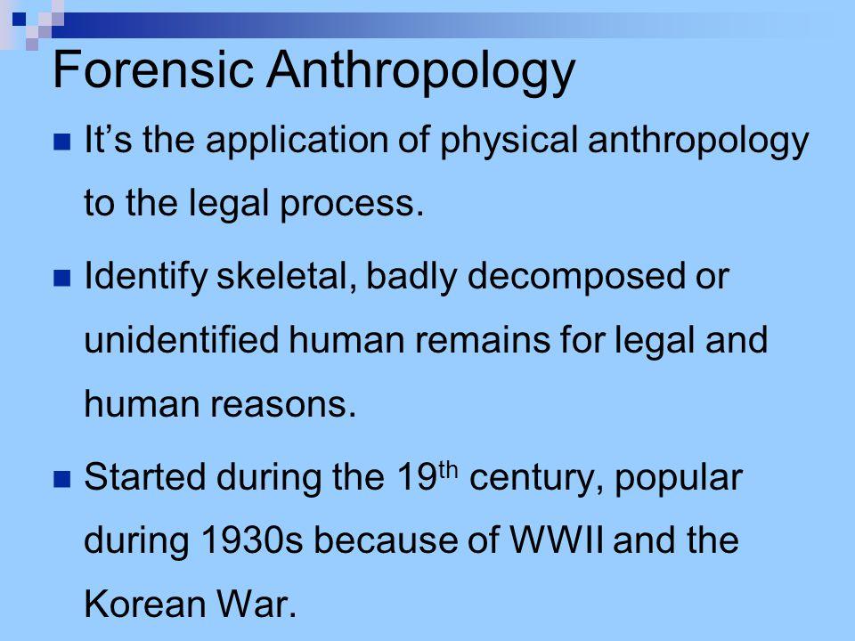 Determining Sex using the femur Forensic Anthropology