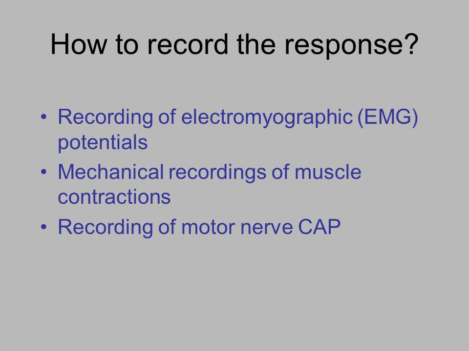 Recording EMG potentials from extraocular muscles Using non-invasive electrodes