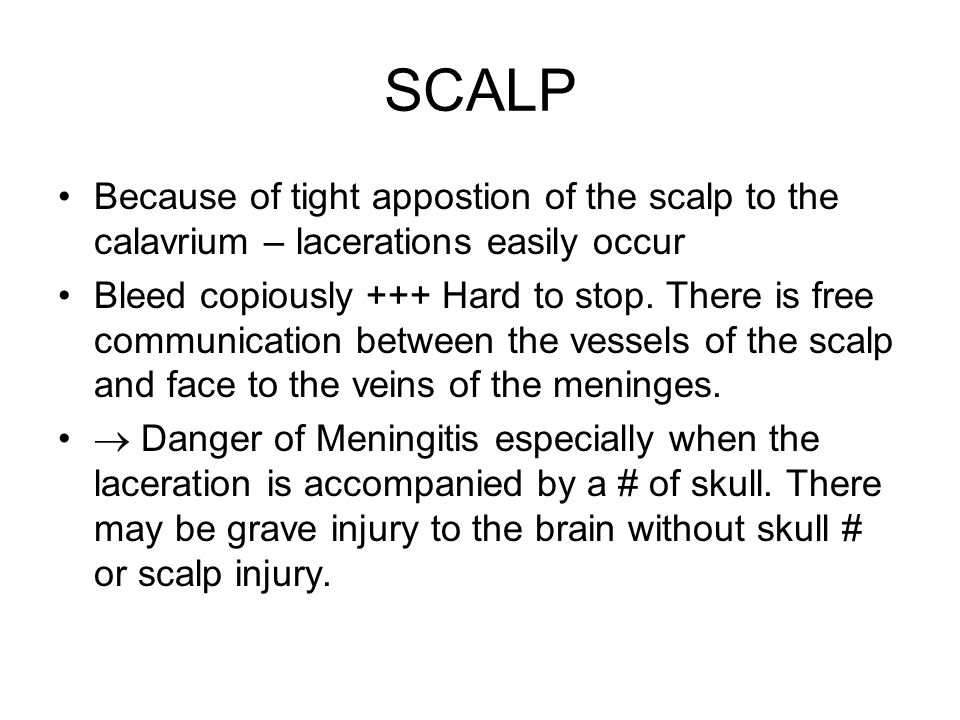 Contra Coup ( Mechanism) Brain Lag: As the skull is accelerated towards the ground the brain will lag towards the anterior surface compared to the CSF insulation fluid which shifts immediately in the direction of CSF Acceleration sloshs to the back.