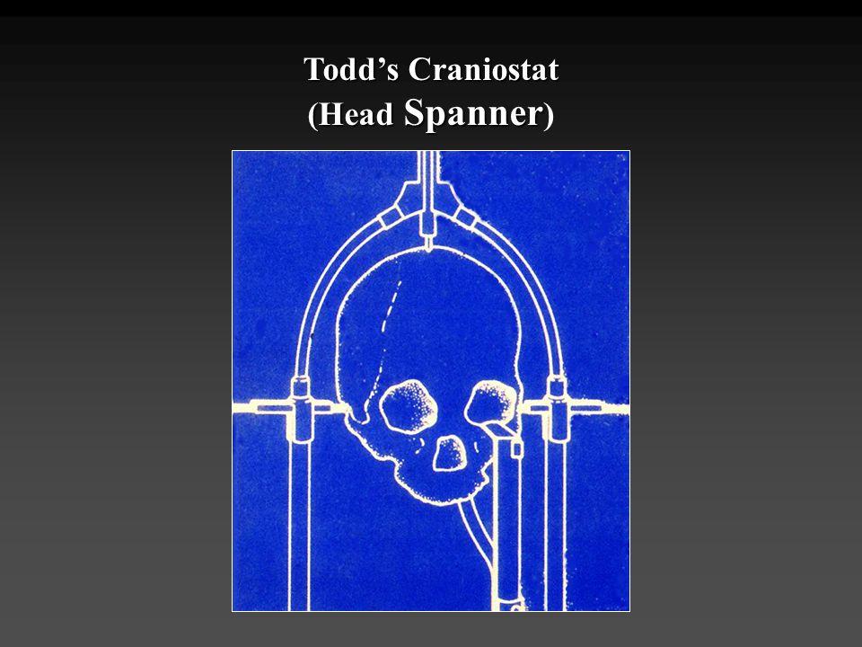 Todd's Craniostat (Head Spanner Todd's Craniostat (Head Spanner )