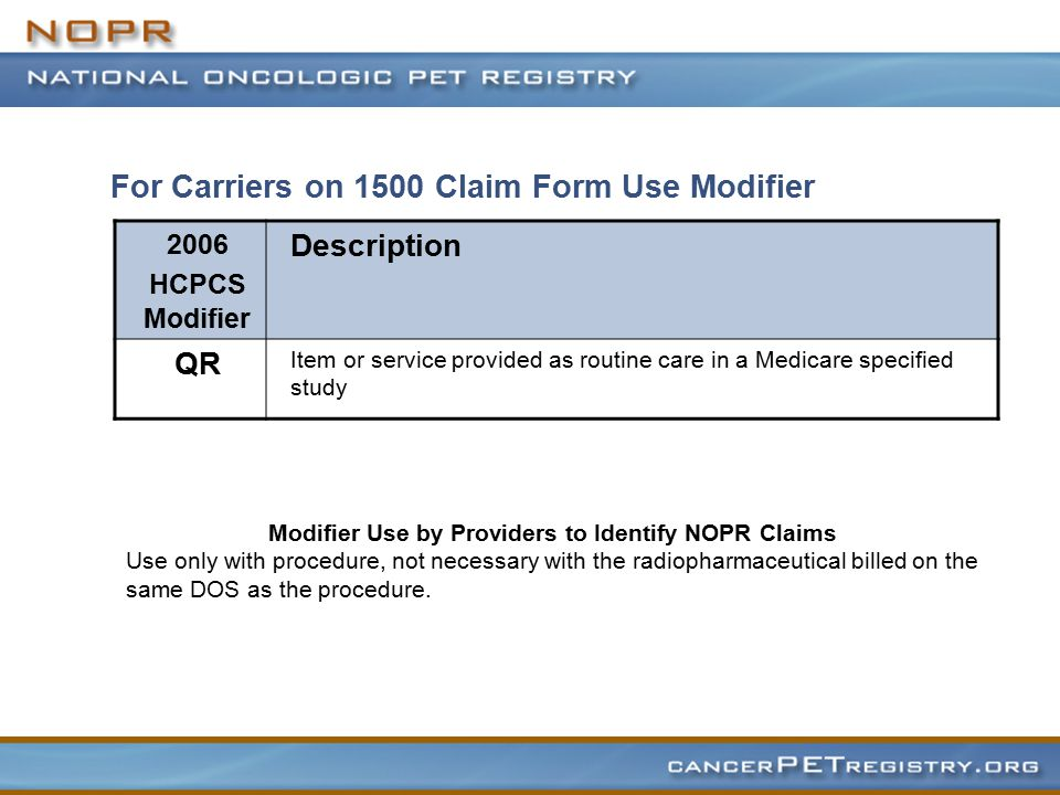 Hospitals ONLY on 1450 Claim Form (UB) 2006 Hospital Revenue/ICD 9 CM Codes Description 0343 Diagnostic Radiopharmaceutical 0404 PET Procedures V70.7 Examination of participants in clinical trial V70.7 Use in the Second Diagnosis Position FL 68 From Current CMS policy CR 3741