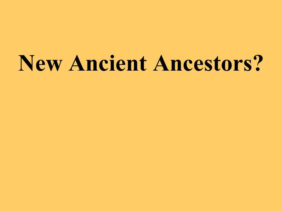 New Ancient Ancestors