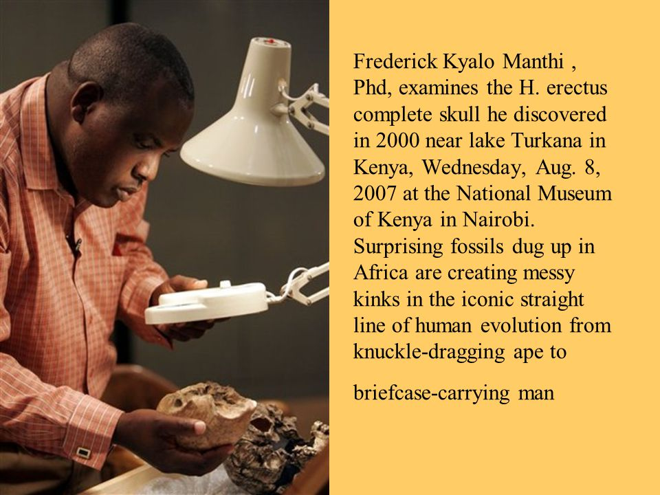 Frederick Kyalo Manthi, Phd, examines the H.