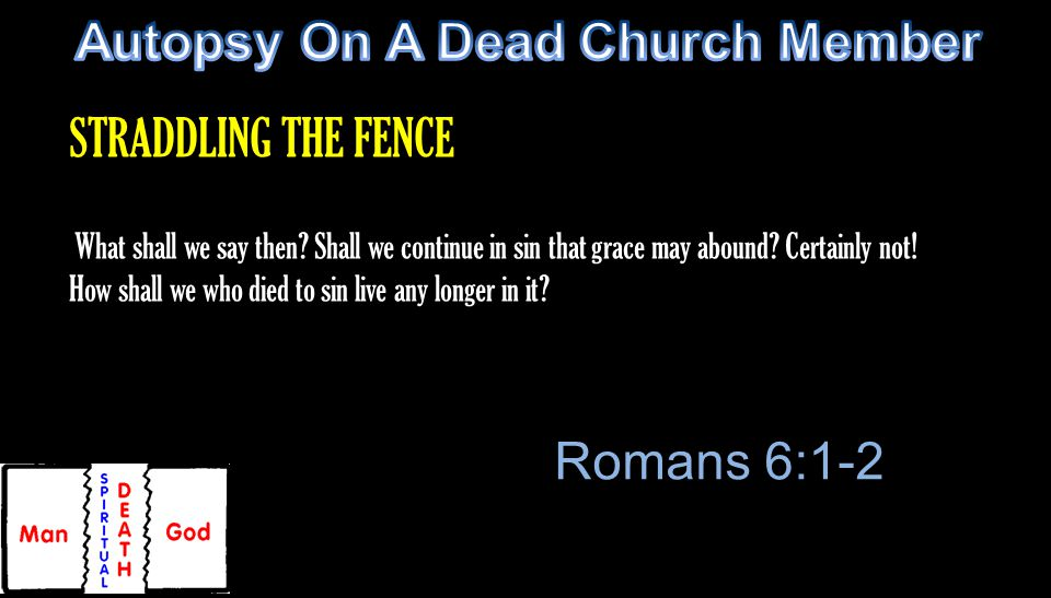 What shall we say then. Shall we continue in sin that grace may abound.