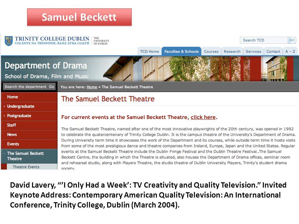 Samuel Beckett Krapp's Last Tape by Samuel Beckett Michael Gambon (Dumbledore) as Krapp