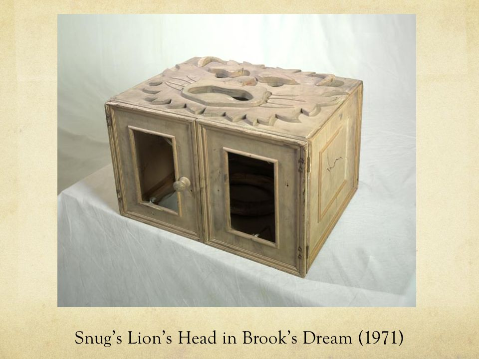 Snug's Lion's Head in Brook's Dream (1971)