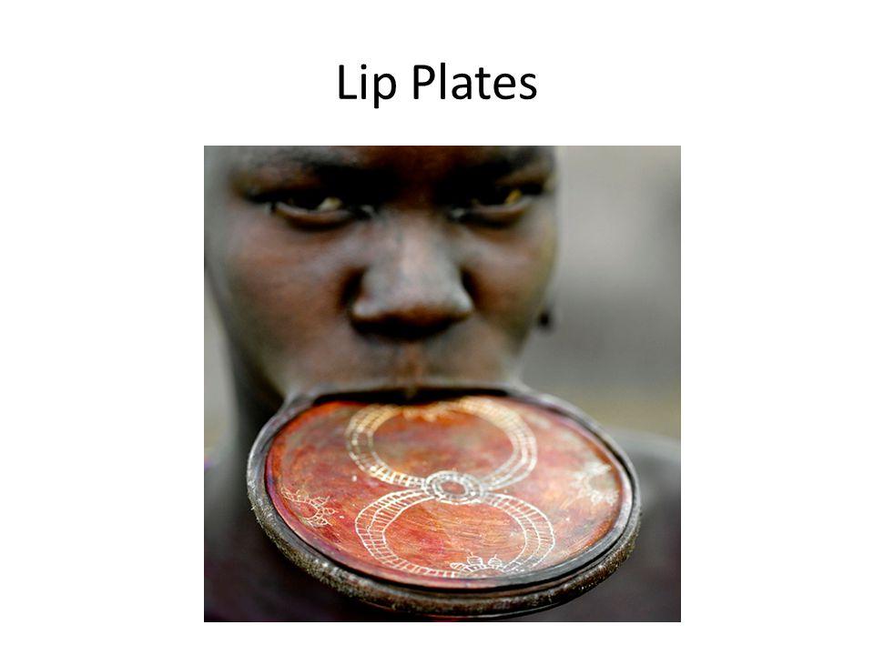 Lip Plates