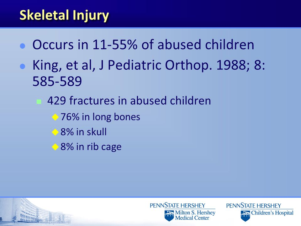 Torus fracture with healing