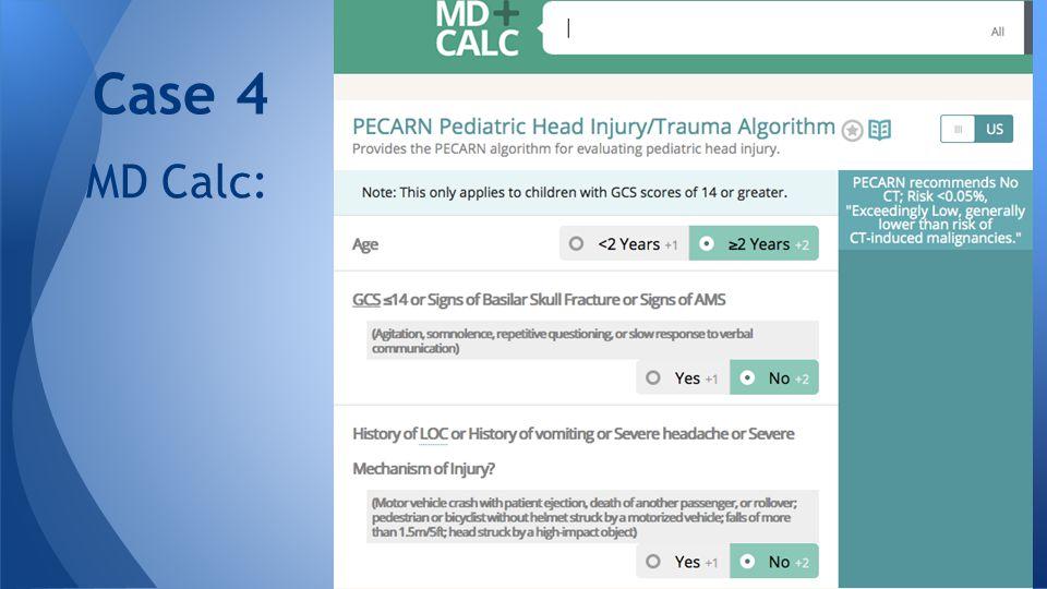 MD Calc: Case 4