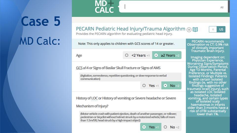 MD Calc: Case 5
