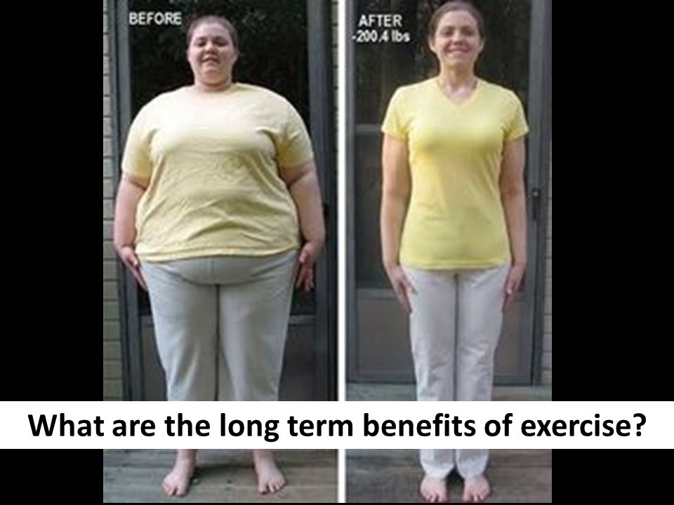 What are the long term benefits of exercise