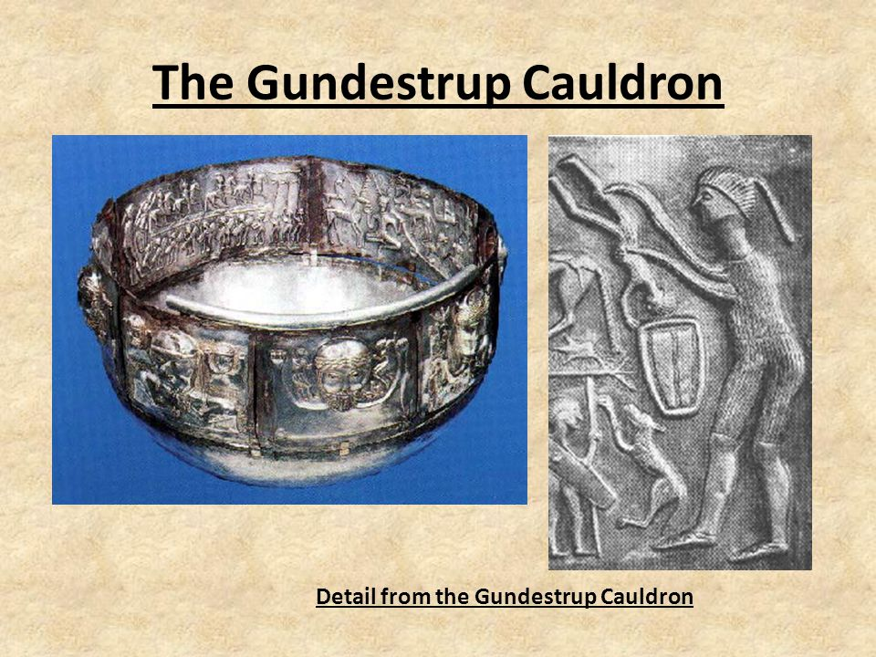 The Gundestrup Cauldron Detail from the Gundestrup Cauldron