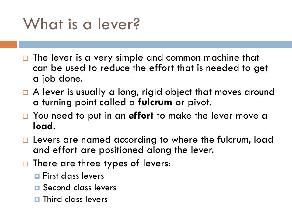 Levers in Everyday Life - Kitchen  Using a spoon to open milo can is using it as a first-class lever  Wheel and axle combinations include taps (force multiplier) and ceiling fans (speed multipliers)  Hinges on cupboards are second-class levers