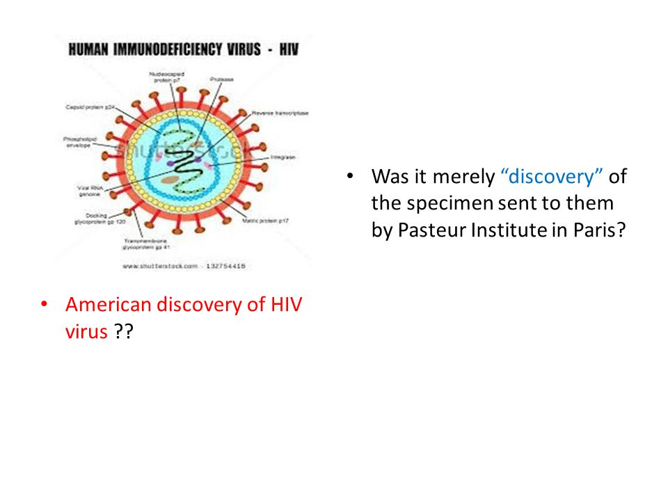 American discovery of HIV virus .