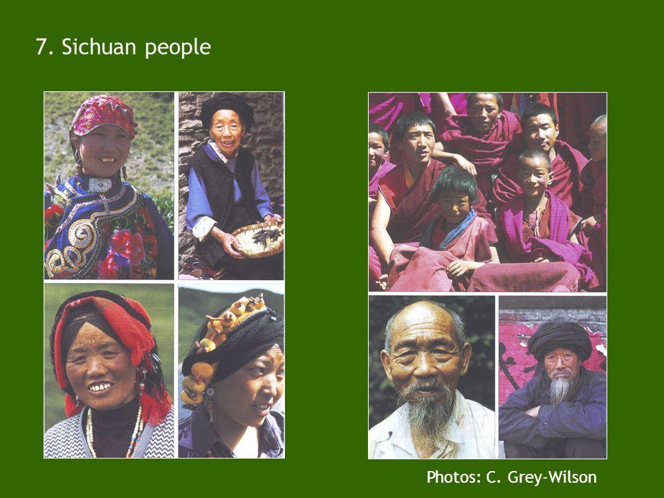 6. Sichuan children Deng Zhanzwa Hongyuan