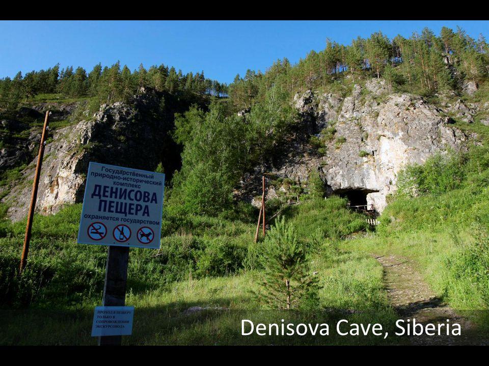 Denisova Cave, Siberia