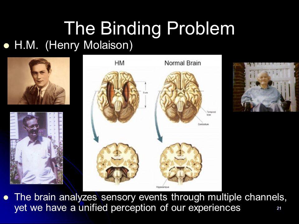 21 The Binding Problem H.M.