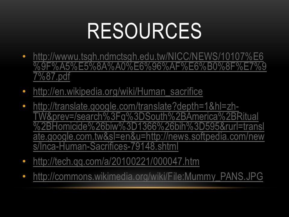 RESOURCES http://wwwu.tsgh.ndmctsgh.edu.tw/NICC/NEWS/10107%E6 %9F%A5%E5%8A%A0%E6%96%AF%E6%B0%8F%E7%9 7%87.pdf http://wwwu.tsgh.ndmctsgh.edu.tw/NICC/NE