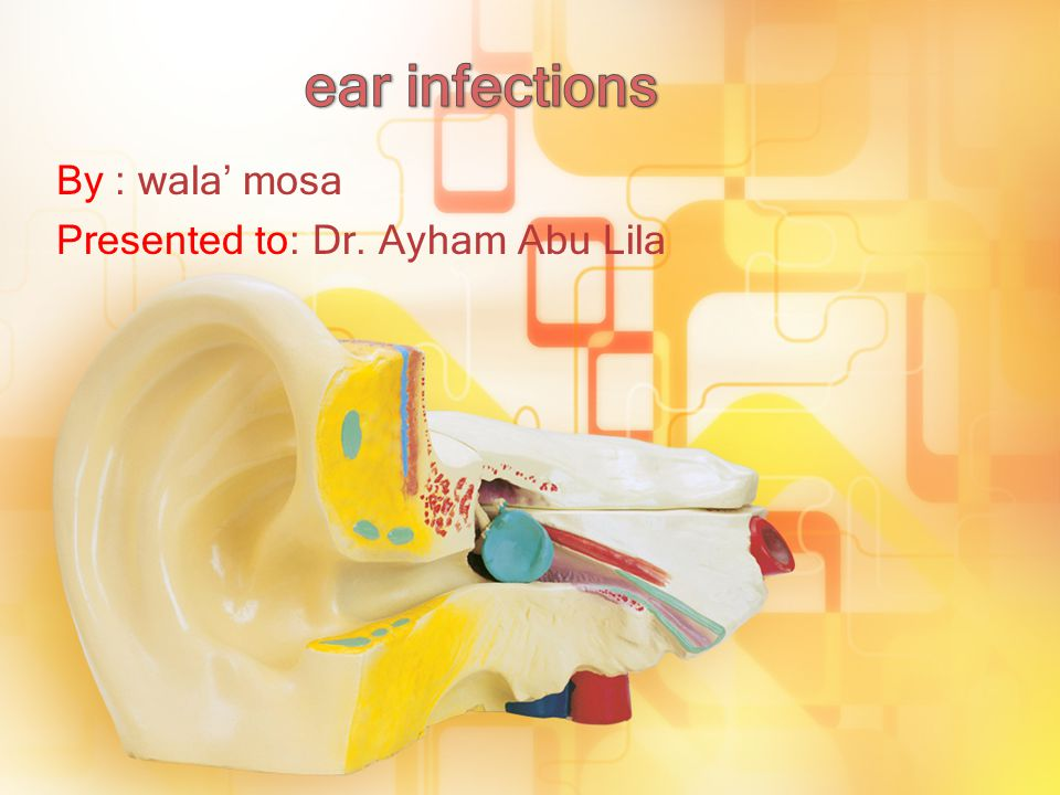 Doctors diagnose ear infection by otocsope Healthy eardrum appears pinkish-gray Infected eardrum looks red and swollen.