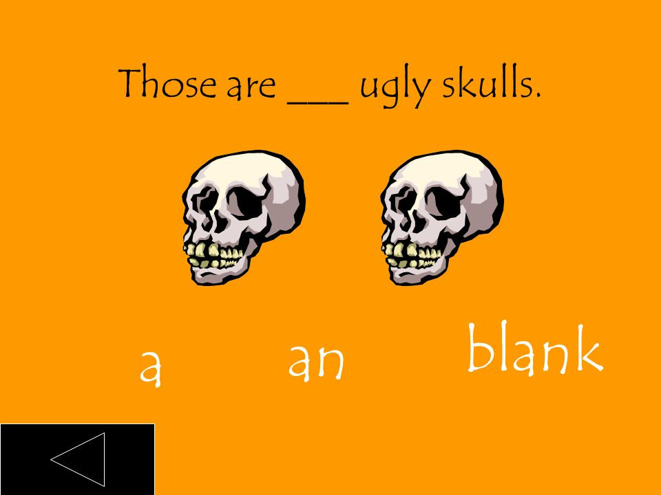 That is an ugly skull. an
