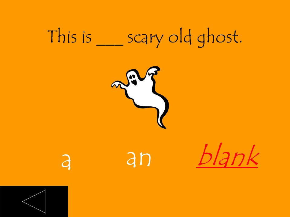 This is an old ghost. an