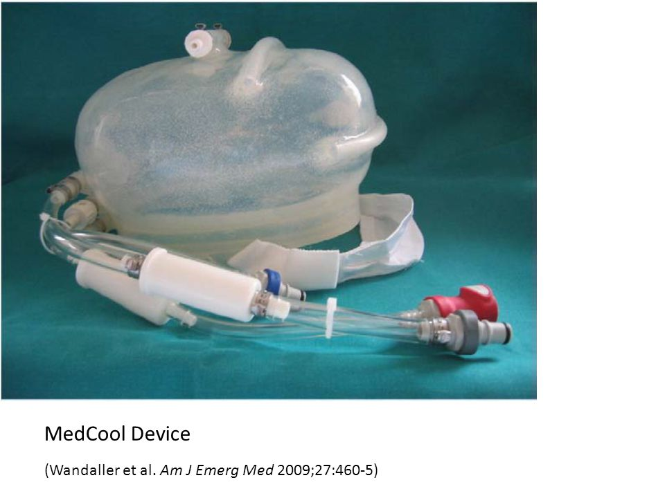 MedCool Device (Wandaller et al. Am J Emerg Med 2009;27:460-5)