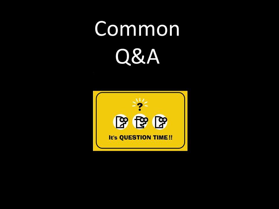 Common Q&A