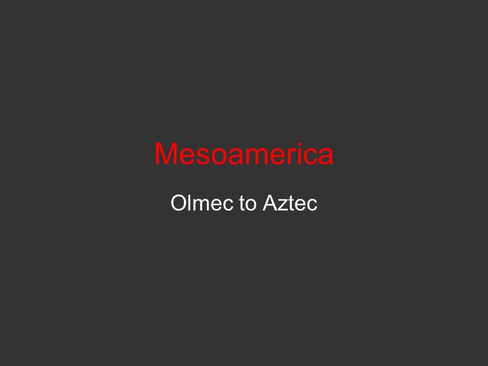Olmec Centralized along the Gulf Coast of Mexico around the modern city of Veracruz, the Olmec culture appeared as early as 1500 BCE and lasted until about 400 BCE.