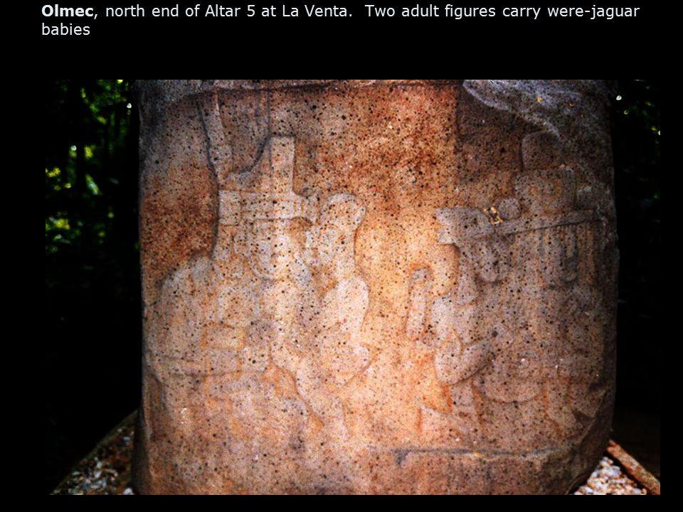 La Venta, Stele with Three Kings, Olmec