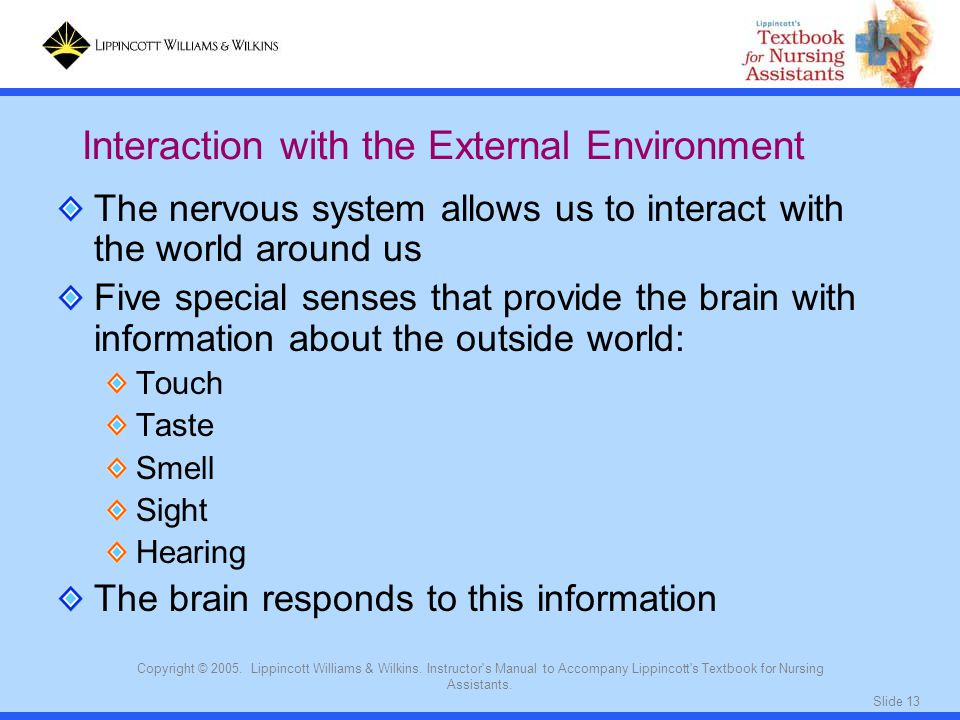 Slide 13 Copyright © 2005. Lippincott Williams & Wilkins.