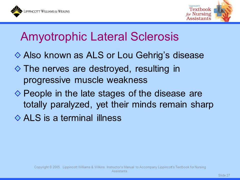 Slide 27 Copyright © 2005. Lippincott Williams & Wilkins.