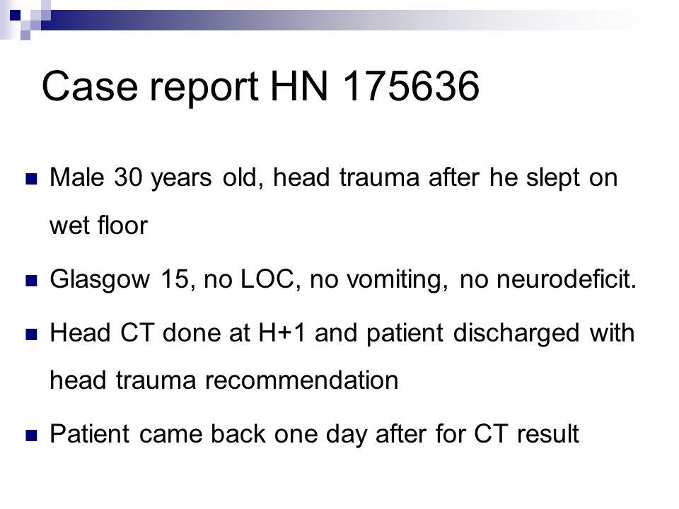 Patient HN 175636