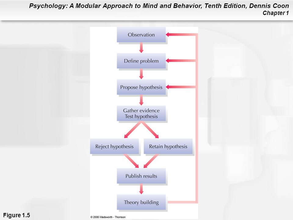 Psychology: A Modular Approach to Mind and Behavior, Tenth Edition, Dennis Coon Chapter 1 Figure 1.5