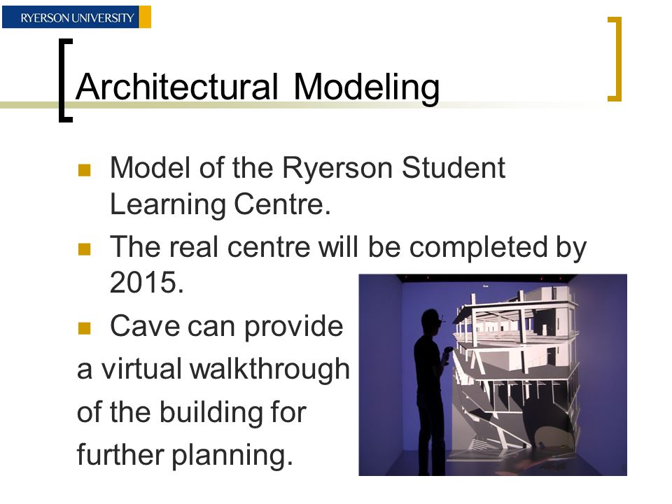 Architectural Modeling Inside the Student Learning Centre Model 9
