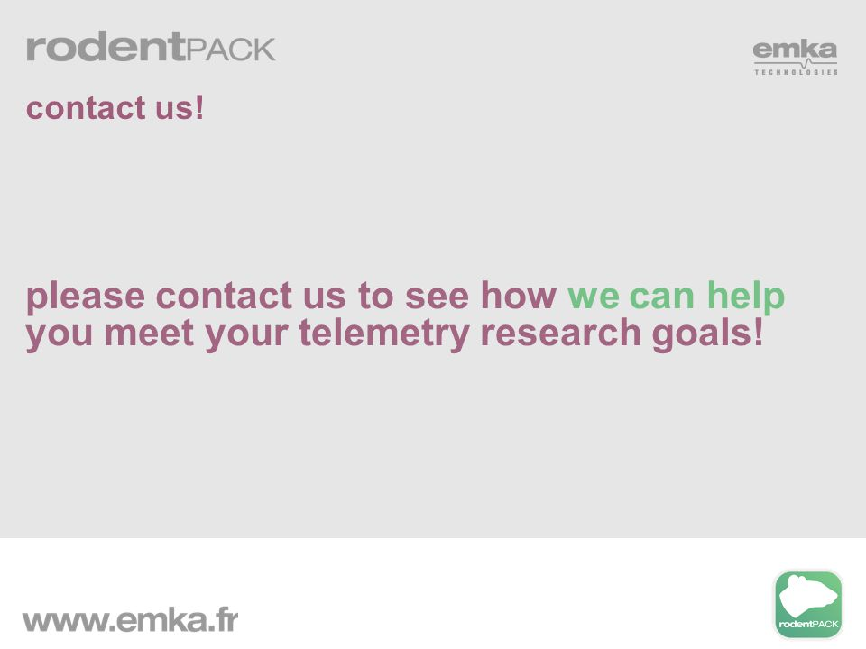 please contact us to see how we can help you meet your telemetry research goals! contact us!