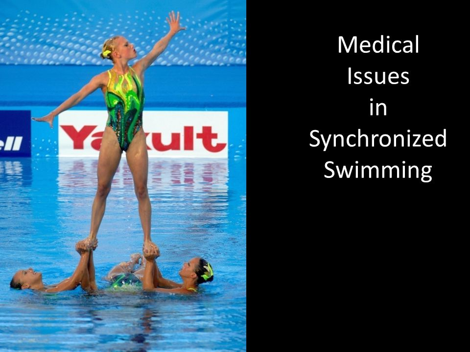 Medical Issues in Synchronized Swimming