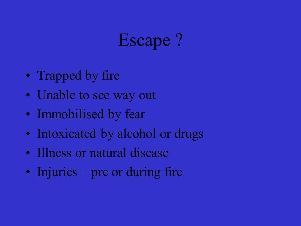 Escape .
