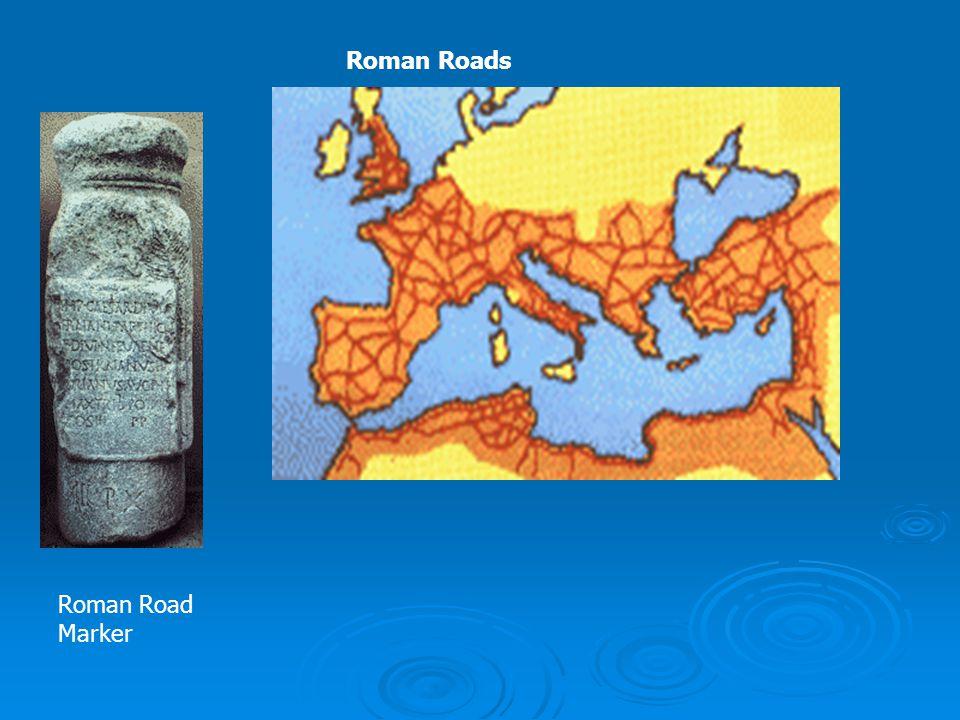 Roman Road Marker Roman Roads