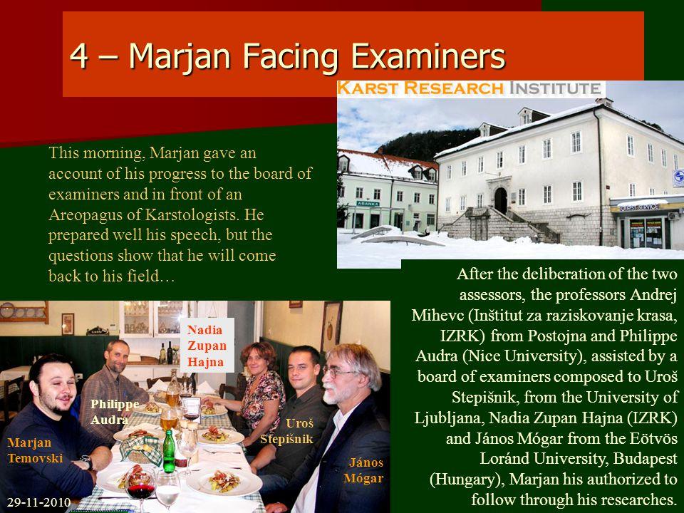 65 – Meeting In Kavadarci Club Marjan and his friends in Speleo-club of Kavadarci (Macedonia) Marjan Temovski 05-12-2010 Nikola Minčorov Blagoj Lazov