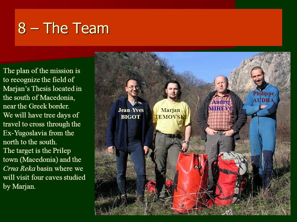 29 – Lip Cave 02-12-2010 We take helmet and follow Andrej in Lipska Pecina.